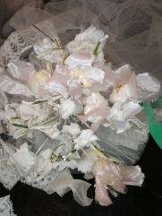 Vieux bouquet et voile